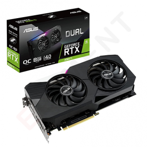 ASUS Dual GeForce RTX 3060 Ti V2 OC Edition (DUAL-RTX3060TI-O8G-V2)