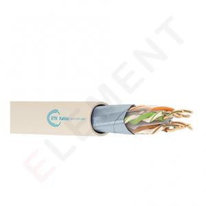 Etk kablo ET-Cat6-FTP-4x2x23AWG-LSZH-305M